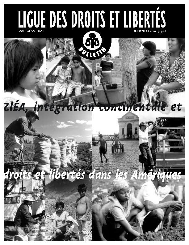 ZLÉA – Intégration continental et droits et libertés dans les Amériques