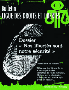 Nos libertés sont notre sécurité