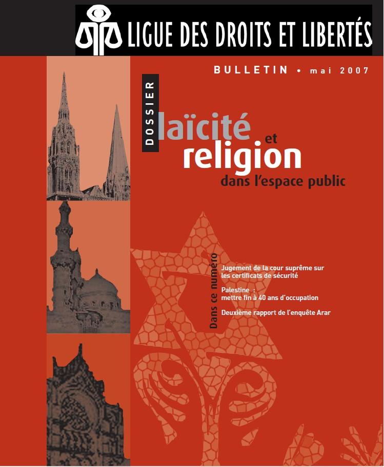 Laïcité et religion dans l'espace public