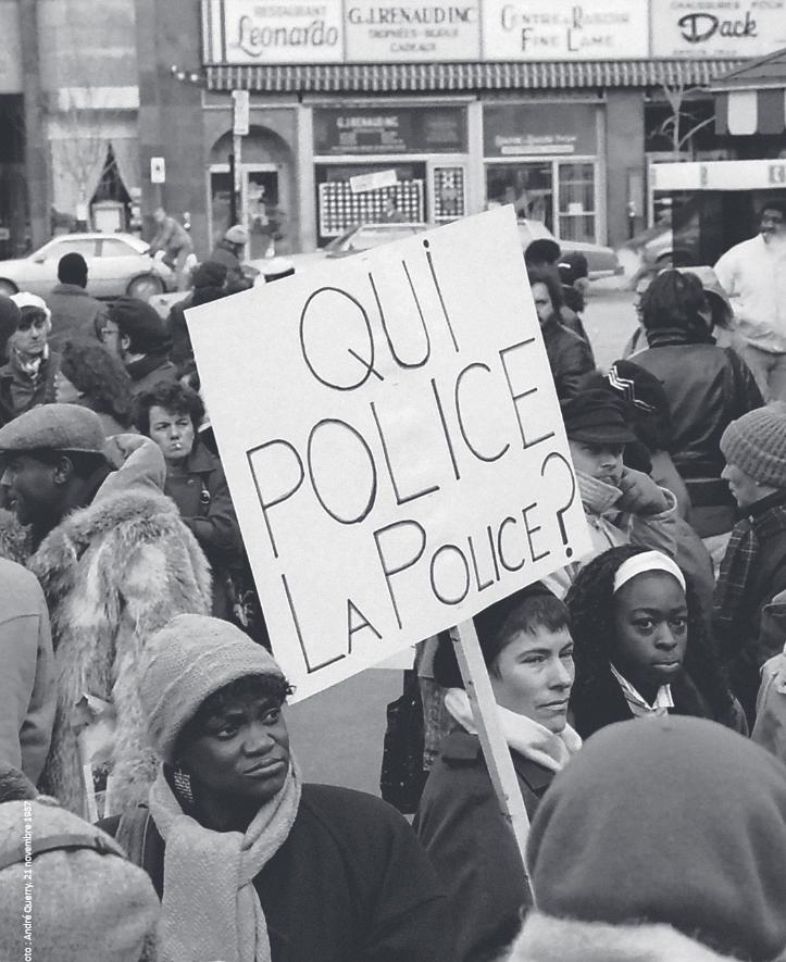 photo prise par André Querry, foule qui manifeste pour un mecanisme d