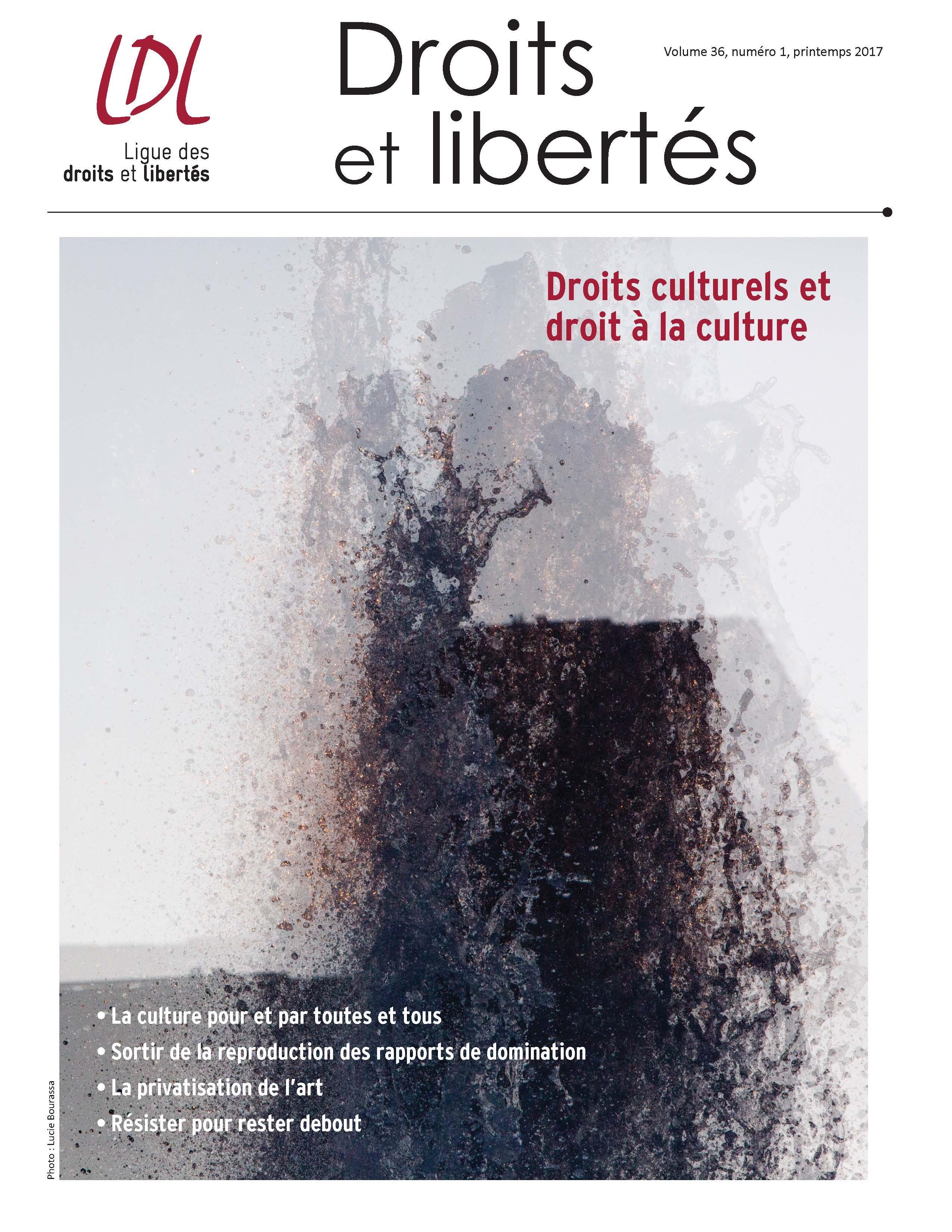 Droits culturels et droit à la culture
