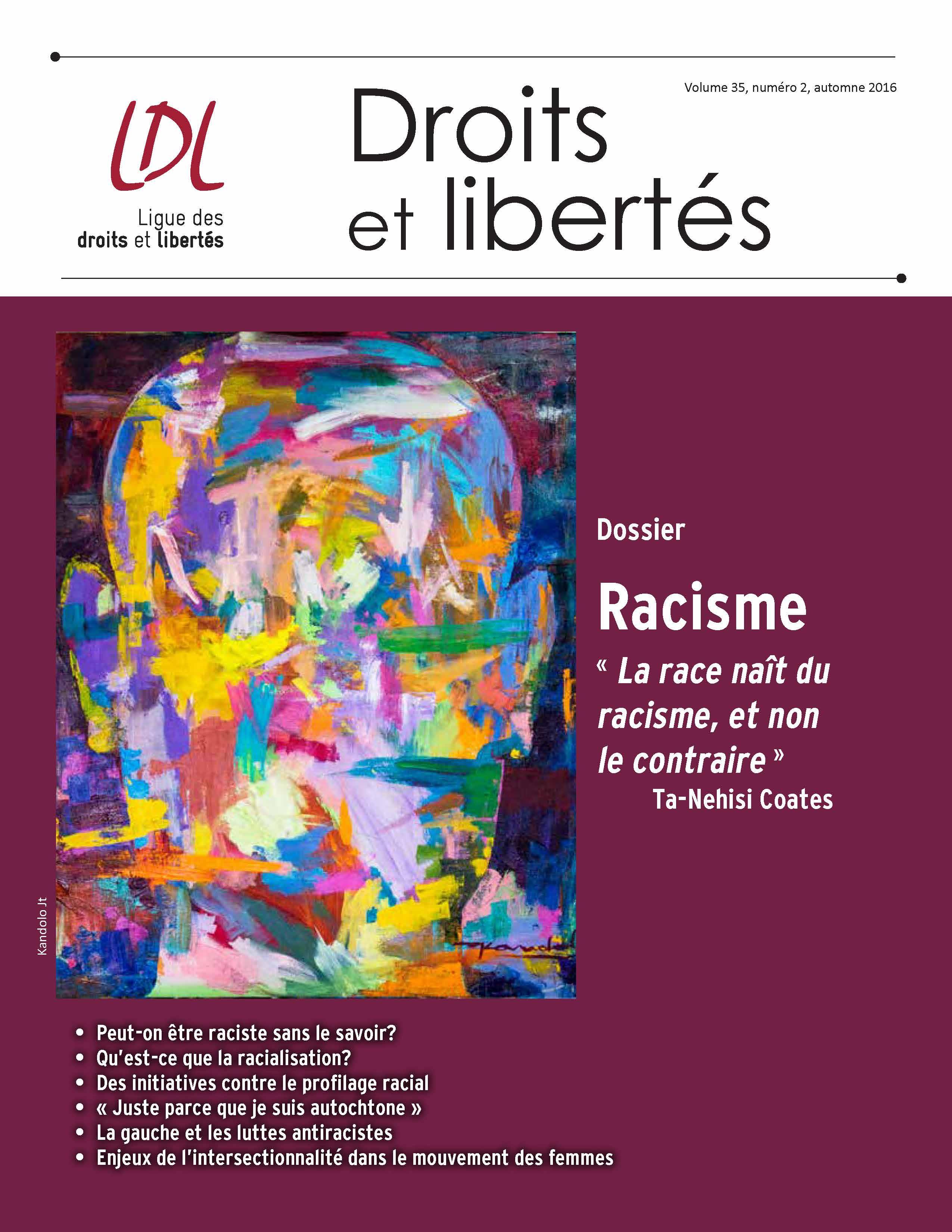 Revue de la ldl sur le racisme ligue des droits for Revue de www houseplans com